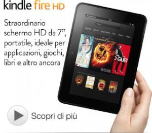 KINDLE Fire HD 99,00 EU